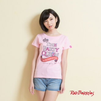 ★Red Berries★ *The party queen*派對皇后短T(4色,S/M/L)