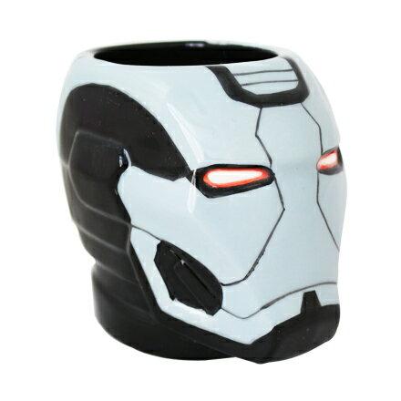 [敵富朗超市]鋼鐵人3D立體馬克杯-機器戰爭 0