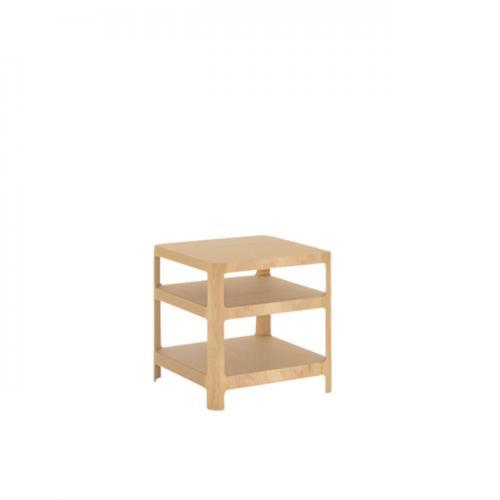 【MUKU工房】 北海道 旭川 家具 MOBEL TOKO 單板 SORAHE邊桌 (原木  /  實木) 0
