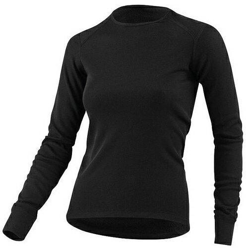 【【蘋果戶外】】odlo 152021 女圓領 黑『送polartec手套』瑞士 機能保暖型排汗內衣 衛生衣 發熱衣 保暖衣 長袖