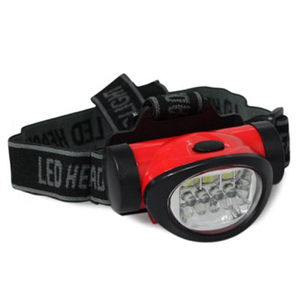 SMD頭燈手電筒 LED 3+4頭燈 超輕強光防水頭燈 乾電池頭燈(需自備)夜釣 夜騎 工作燈【SV9685】BO雜貨