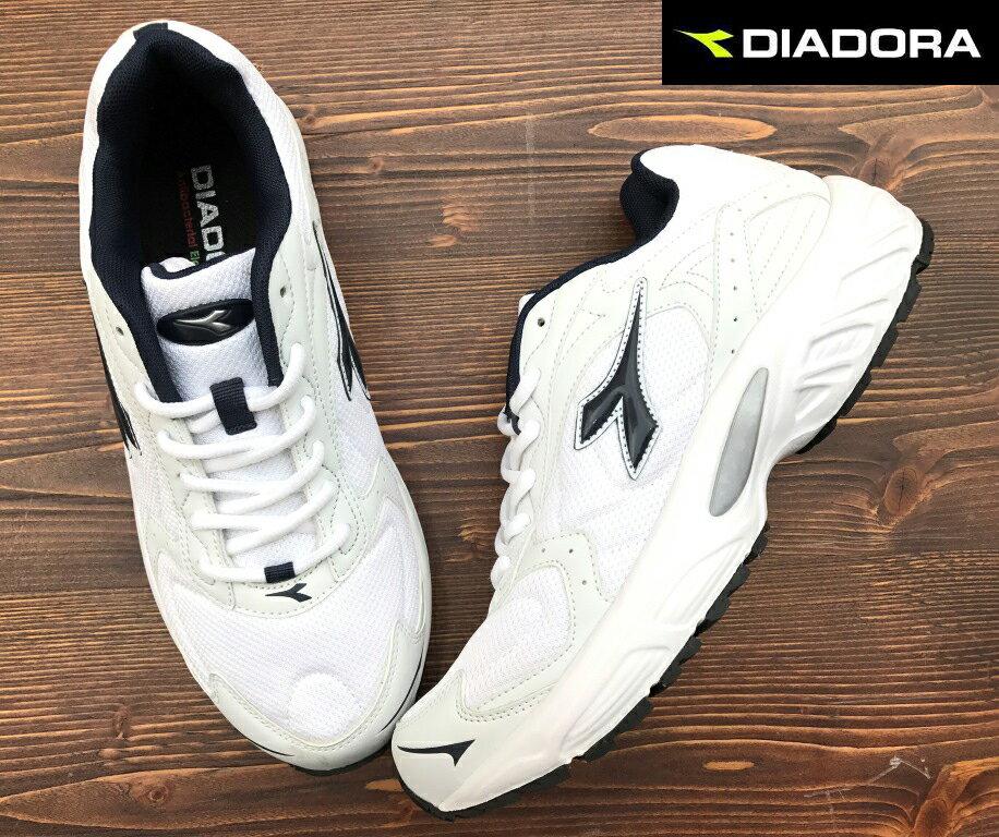 【剪標品出清-25.5號】義大利國寶鞋-DIADORA迪亞多納 男款入門型寬楦運動慢跑鞋