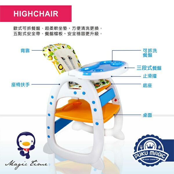 『121婦嬰用品館』PUKU Magic高腳餐椅 4