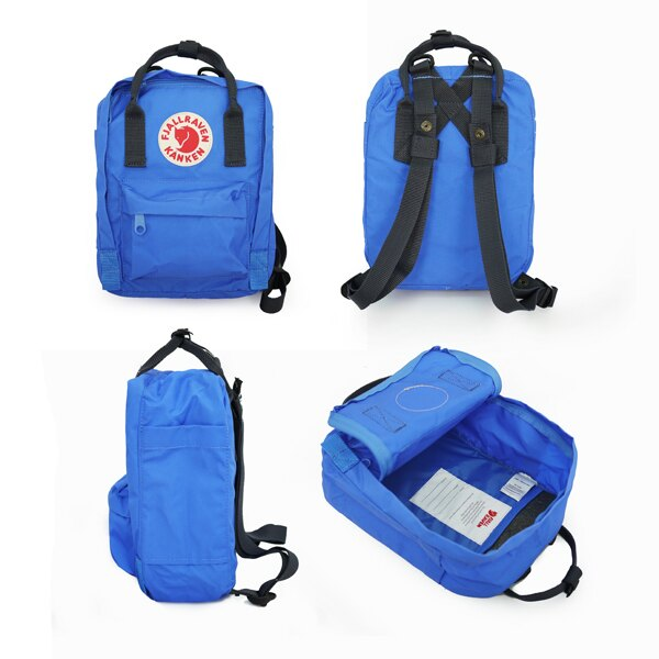 【Fjallraven Kanken 】Kanken Classic 326-540 Ox red & Royal Blue 公牛紅皇家藍【全店免運】 ARIBOBO 艾莉波波 1