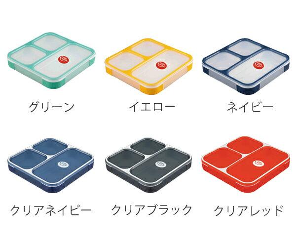 日本FOODMAN 大容量 分隔 男子 便當盒 800ml  /  可微波  /  4571347172119  /  日本必買 日本樂天直送(2434) 3