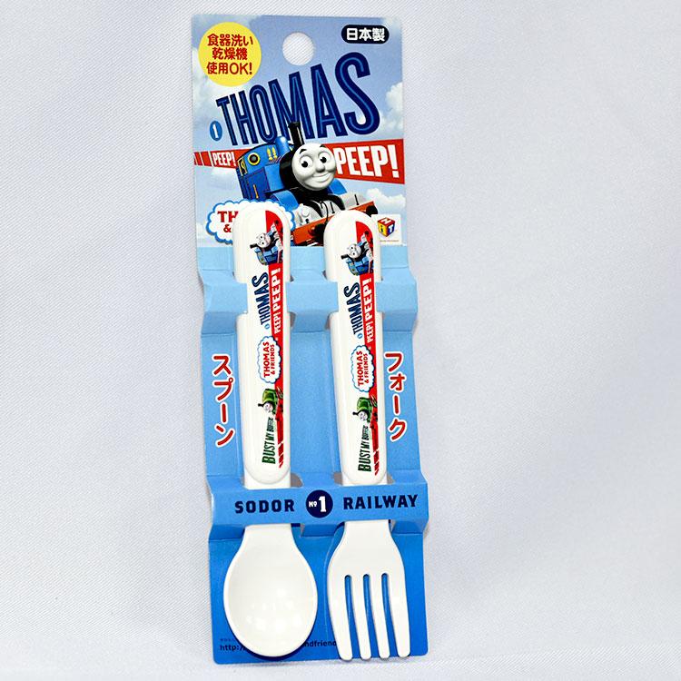 湯瑪士小火車 兒童餐具 湯匙 叉子 製