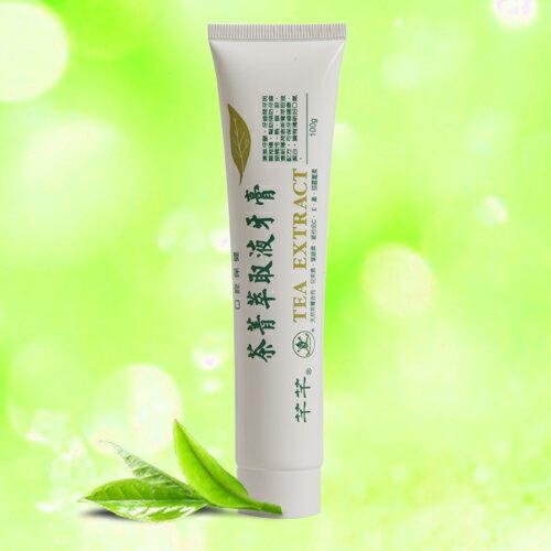 CHIAN~CHIAN 芊芊 : 茶菁系列 gt 茶菁萃取液牙膏 100ml ❤鎧霆健康
