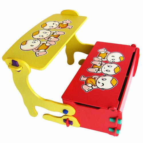 @小櫻桃嬰兒用品@kikimmy--四合一多功能學習書桌椅 兒童書桌椅