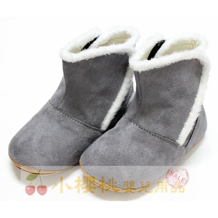 天鵝童鞋Cha Cha Two恰恰兔--短靴 童鞋 台灣製造 灰色