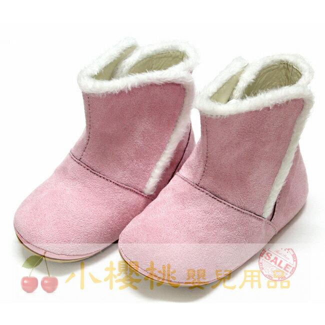 天鵝童鞋Cha Cha Two恰恰兔--短靴 童鞋 台灣製造 粉色