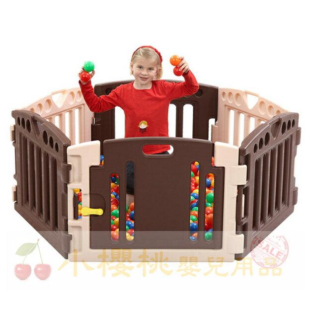 Edu-play--嬰兒圍欄 安全圍欄 遊戲圍欄【6PCS】