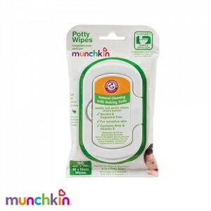 munchkin--三合一便器專用濕紙巾