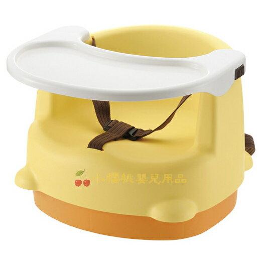 利其爾Richell--兩用型便利椅 餐椅【黃色】