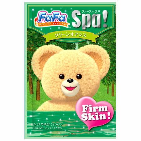 @小櫻桃嬰兒用品@日本FaFa熊--森林綠洲入浴劑30G