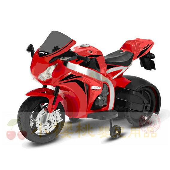 日系1000cc兒童電動重型機車 電動車 紅色