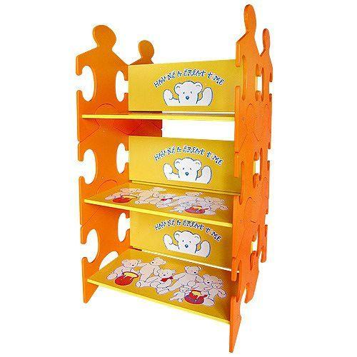@小櫻桃嬰兒用品@kikimmy--小熊多用途雙面書架