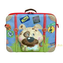 德國okiedog---立體 兒童動物造型手提箱 行李箱【小狗】