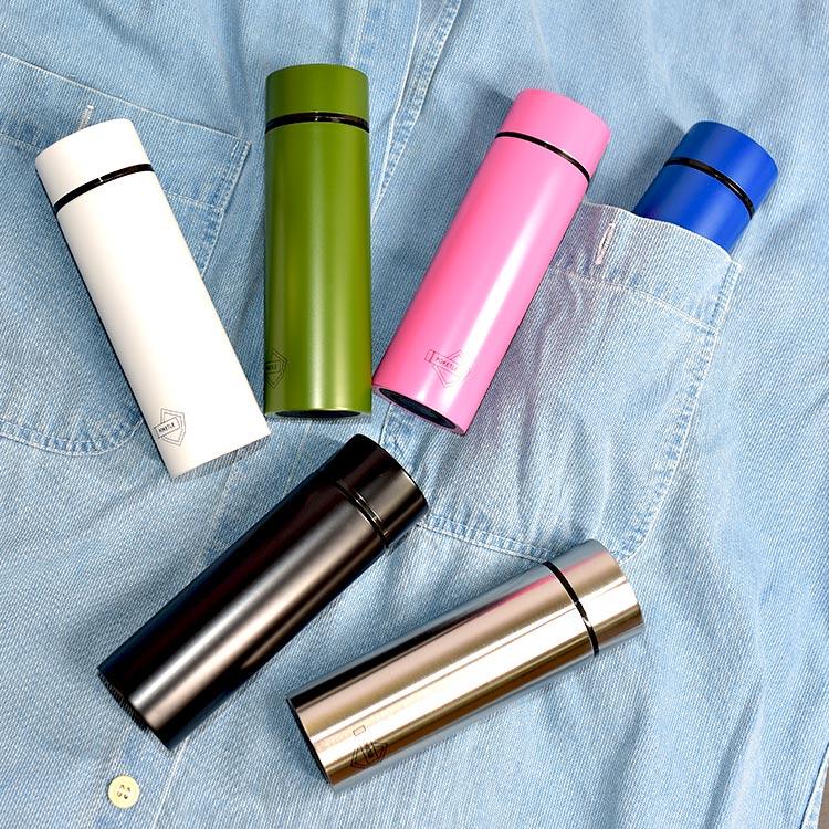 日本最小 POKETLE 超輕量 不鏽鋼保溫瓶 保冰隨行瓶 120ml 日本正版商品 0
