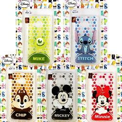 【Disney】HTC One M9+ /M9 Plus 點點滿版系列 彩繪透明保護軟套