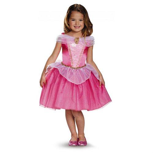 Girls Classic Aurora Disney Princess Costume size XS 3T-4T 0