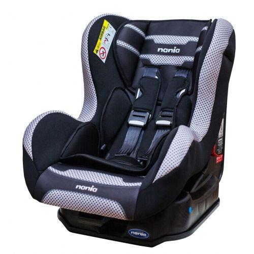 ★衛立兒生活館★NANIA 納尼亞0-4歲安全汽座(素黑色)(安全座椅)FB00385
