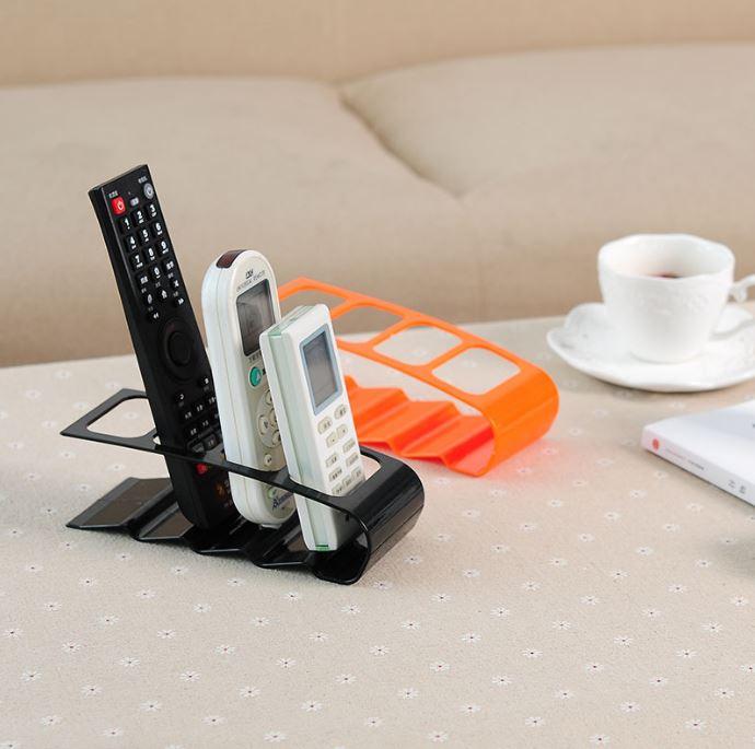 居家四格遙控器收納架 遙控架 電視空調冷氣收納座 居家收納必備【Z90229】