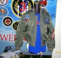 飛行外套推薦到嘎嘎屋空軍 飛行夾克 制式 飛夾(含臂章+名牌)JU-001就在嘎嘎屋推薦飛行外套