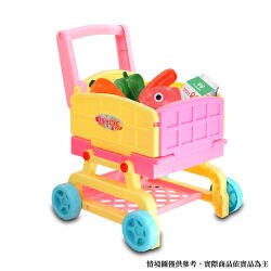 【MIMI WORLD】2in1可愛廚房手推車