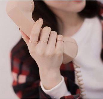 【超值99專區】Tokyo Alice 925純銀時尚線戒尾戒,戒指飾品首飾銀飾甜美(sr0000010)