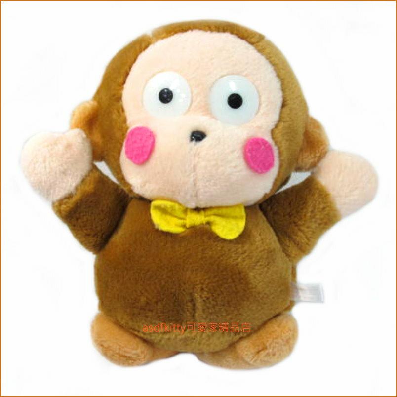 asdfkitty可愛家☆二手出清-淘氣猴 絨毛玩偶-日本正版