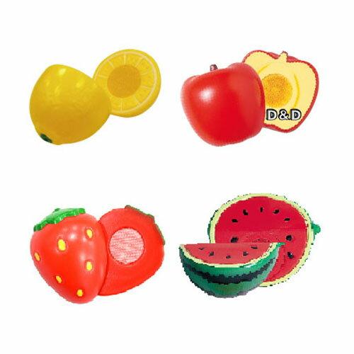 《日本Toyroyal樂雅》蔬果切切D組(檸檬+草莓+西瓜+蘋果)