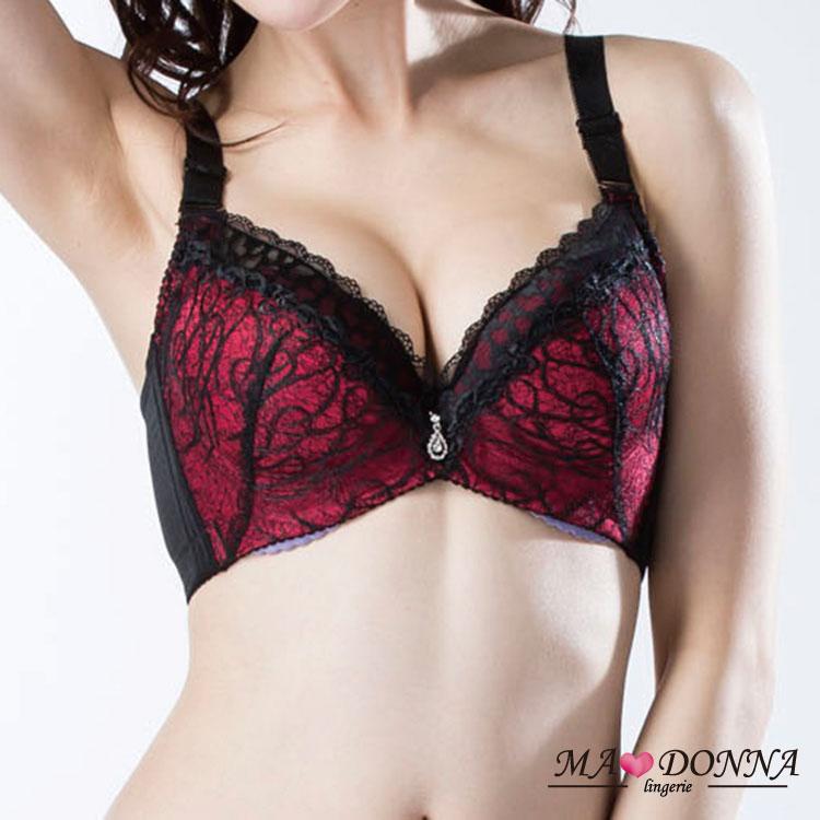華麗豐波集中包覆胸罩 B-C罩 成套組2667 機能 收副乳 深V 內衣 內褲