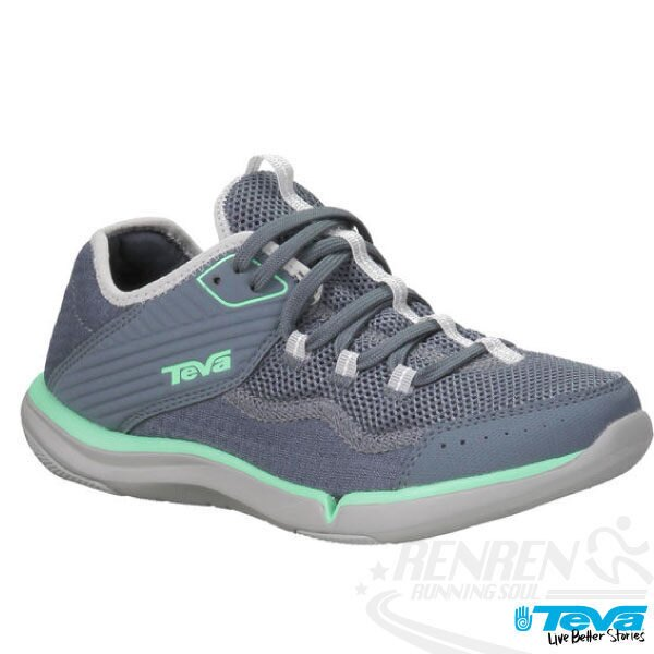 TEVA REFUGIO女用水陸兩棲多功能運動鞋(淺灰*綠)TV1003983SLA