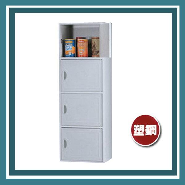『商款熱銷款』【辦公家具】CP-3404灰色舒美櫃置物櫃櫃子檔案收納