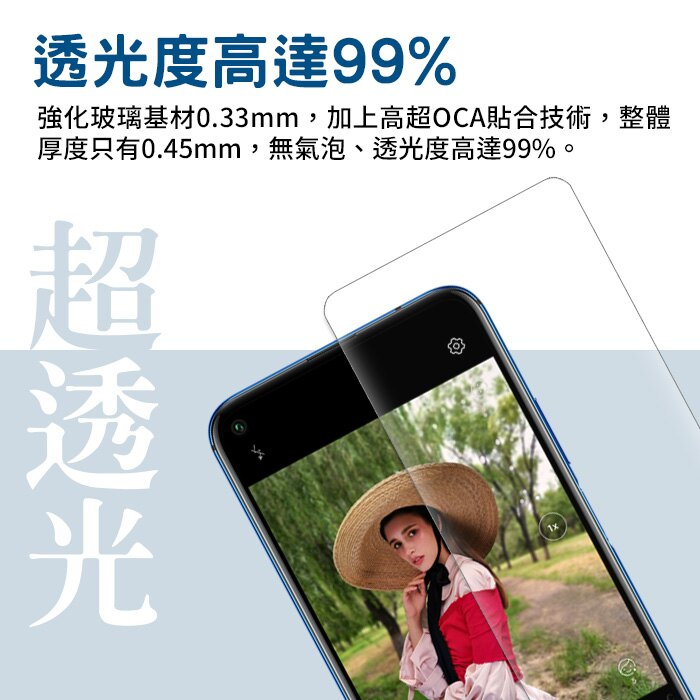 #【nisda】華為huawei系列9H鋼化玻璃保護貼 Nova5T  Mate20 Y7PRO(2019) Y9(2019)適用  等