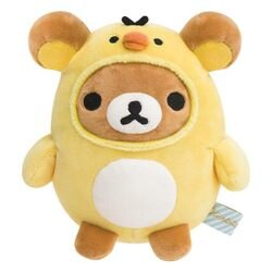 拉拉熊 超舒服觸感 絨毛玩偶 娃娃 小雞懶熊 Rilakkuma 日本正版 該該貝比日本精品 ☆