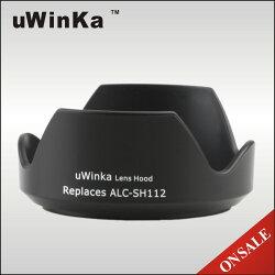 又敗家@uWinka副廠Sony遮光罩ALC-SH112遮光罩(可反扣副廠遮光罩相容索尼新力正品SONY原廠遮光罩)ALCSH112遮光罩適E 16mm F2.8 F/2.8 35mm F1.8 OSS 18-55mm F3.5-5.6  DT 55-300mm F4.5-5.6 SAM FE 28mm F2 SEL28F20 SEL16F28 SEL1855 SEL35F18 SAL55300