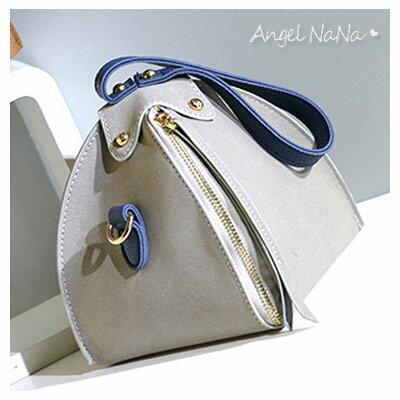 手提包-時尚個性三角流蘇小包斜背包 AngelNaNa 【BA0237】