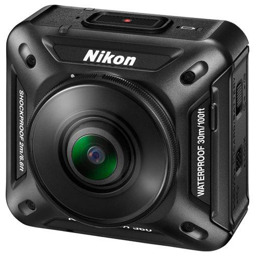 Nikon KeyMission Digital Camcorder - CMOS - 4K - Black - 16:9 - H.264/MPEG-4 AVC, MOV - Electronic (IS) - HDMI - USB - microSD, microSDXC, microSDHC - Memory Card - Wearable - Tripod Mount 3