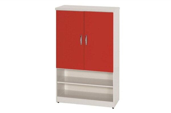 【石川家居】873-06(紅白色)鞋櫃(CT-310)#訂製預購款式#環保塑鋼P無毒防霉易清潔