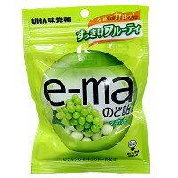 UHA 味覺糖 e-ma 白葡萄喉糖 50g