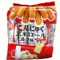 北田蒟蒻糙米捲-牛奶味