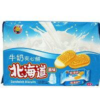 餅之鋪食品暢貨中心:北海道風味-(牛奶味)360g包