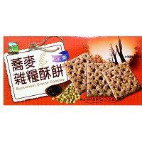 餅之鋪食品暢貨中心:蕎麥雜糧酥餅130g盒