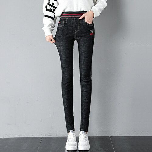 緊身高腰小腳牛仔褲(2色26-32)【OREAD】 1