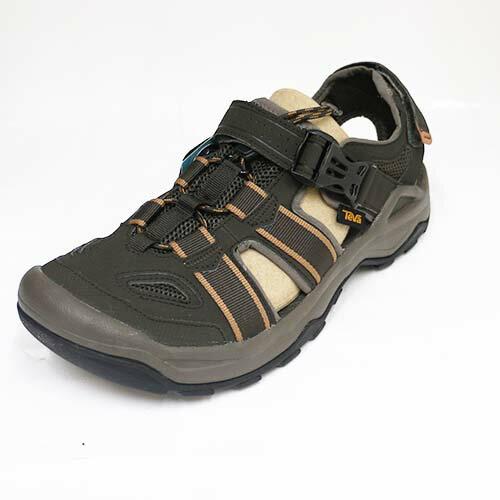 Teva 男 M OMNIUM 2 輕量 包趾 水鞋 耐磨 登山靴 TV1019180BLKO 橄欖綠[陽光樂活]