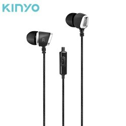 KINYO 立體聲耳機麥克風IPEM-873【愛買】