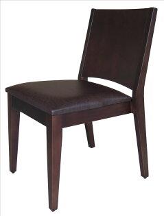【石川家居】YE-A475-14文森胡桃餐椅(咖啡皮)(單張)(不含餐桌與其他商品)台北到高雄搭配車趟免運
