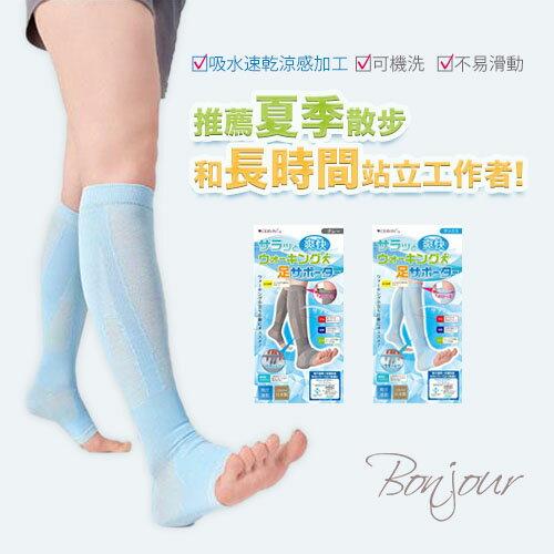 BONJOUR☆日本製CERVIN吸水速乾涼感彈性支撐襪J.【ZE654-784】I. 0