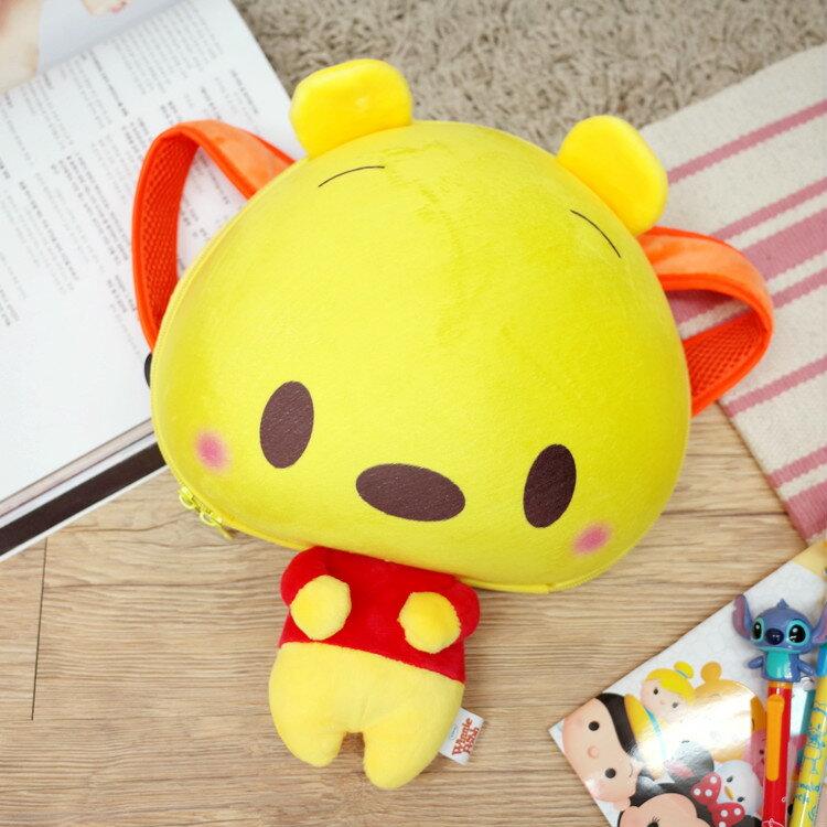 PGS7 日本迪士尼系列商品 - 日本 迪士尼 小熊 維尼 Winnie 硬殼 後背包 包包【SIJ7248】
